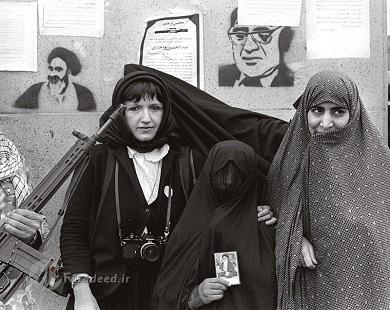 انقلاب به روایت عکاس فرانسوی
