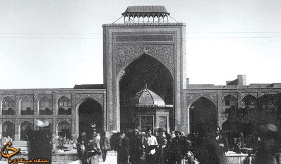 تصاویری زیبا و قدیمی از حرم امام رضا علیهالسلام