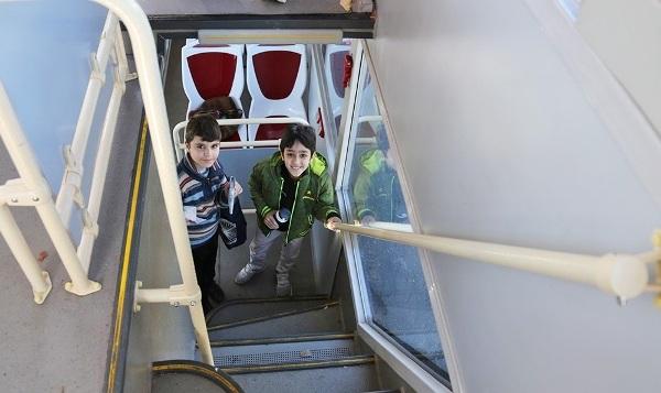 دور تهران با اتوبوس جدید گردشگری