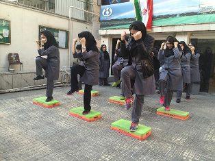 Image result for ورزش دختران در مدارس