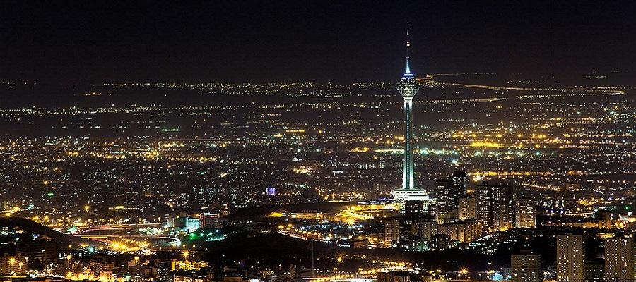 تصاویری از برج میلاد تهران