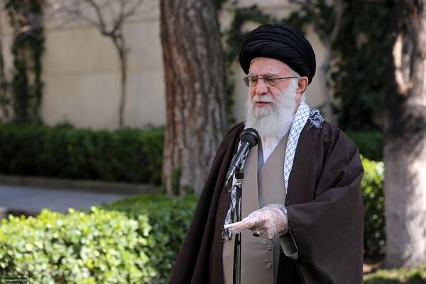 Image result for سخنان رهبری در درختکاری سال 98