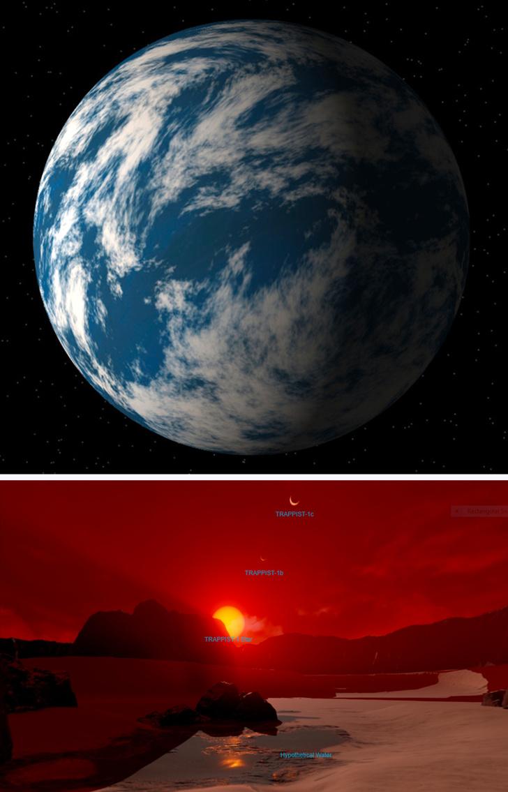 ۱۰ سیارهای که مشابه کره زمین هستند + تصاویر